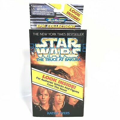 New Galoob Star Wars Micro Machines Epic Collections Truce At Bakura Set Sealed