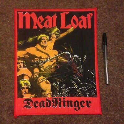 Meat Loaf Deadringer Vintage Early 80'S Back Patch Mint Condition Free Post