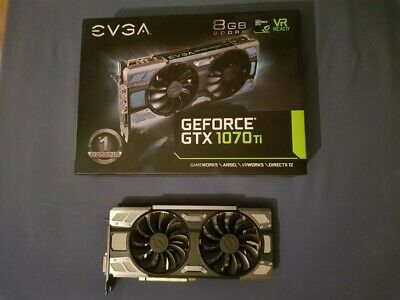 Geforce GTX 1070 Ti EVGA FTW2 1070 ti 8go 8GB nvidia geforce excellent état
