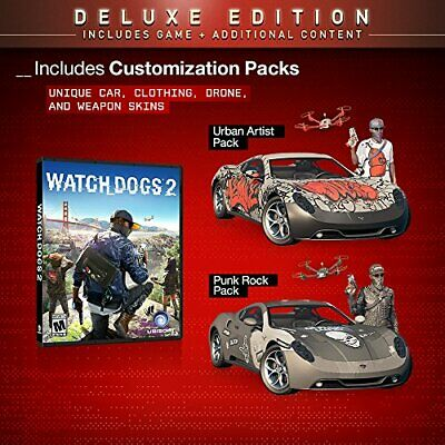 Ubi Soft - Watch Dogs 2: Deluxe Edition (Includes Extra Content) - Xbox One