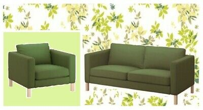 Miraculous Ikea Karlstad2 Seatsofa Chair Sivik Green Loveseat Pabps2019 Chair Design Images Pabps2019Com