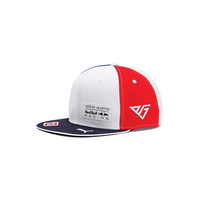 Red Bull Racing F1 Official Adults Special Edition Gasly Flatbrim 'France' Cap