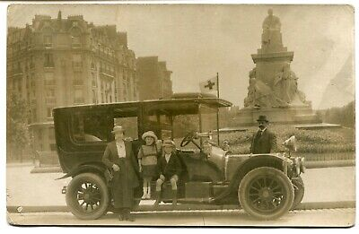 CPA - Carte Postale - Transport - Voiture Ancienne (B8988)