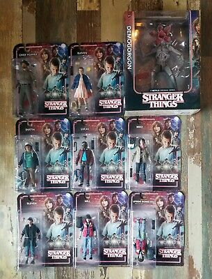 STRANGER THINGS - McFarlane Lot 9 Figures - Demogorgon box, Exclusive Upsidedown