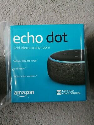 New Amazon Echo Dot (3rd Generation) Smart Speaker