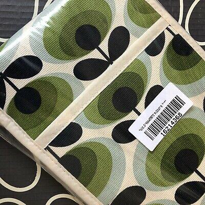 ORLA KIELY Green Oval Flower Stem Double Oven Glove ~ NEW ~ Sealed