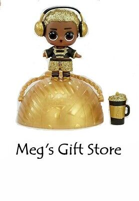 *SEALED RARE GOLD* LOL Surprise Boys Series King Bee Boy Doll + Free Shipping
