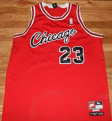 differently 7a71f c1792 VINTAGE MICHAEL JORDAN 23 Nike Jersey Chicago Bulls 1984 ...
