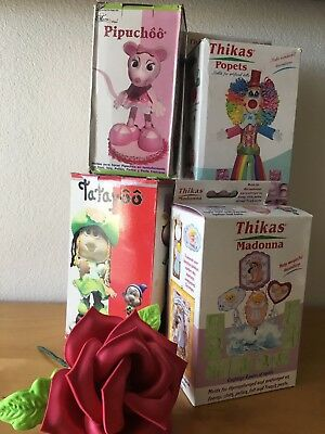 3D Thermoform Figurines Fiesta 4 Package Combo /Flower Kit+ Free Gift Set #6