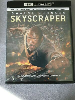 4K Skyscraper   ATTENTION VENDU SANS LE BLU RAY 2d.