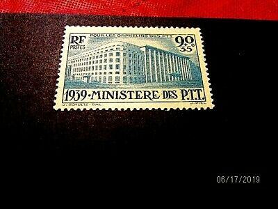 France B83 Post Ministry vf MLH, cat 19.-