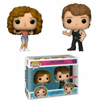 Funko Pop! DIRTY DANCING Target Exclusive BABY AND JOHNNY 2-Pack