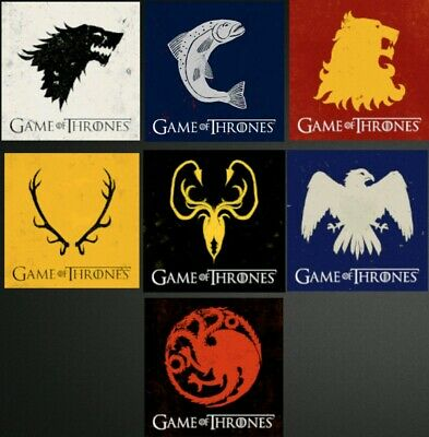 Game of Thrones House Sigil Avatars (6) PS3 & PS4 (USA & Canada Account)
