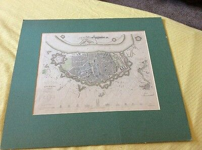 Antique London Charles Knight & Co Ludgate Street Map