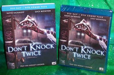 New Ifc Midnight Scream Factory Don't Knock Twice Horror Movie Blu Ray Dvd 2017