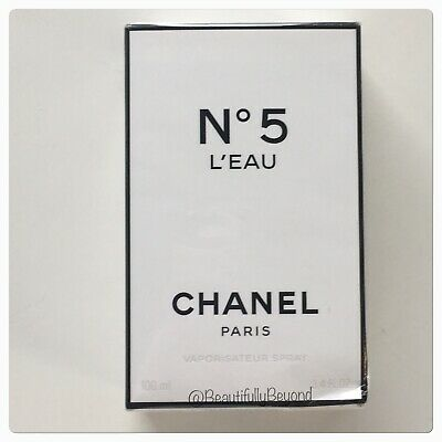 Chanel No5 L'EAU Spray - Full Size 3.4 oz. - Authentic! NIB Sealed! HTF!