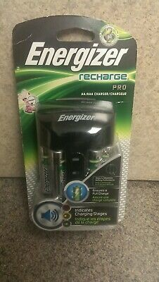 Energizer® Rechargeable AA and AAA Battery Charger (Recharge Pro) with 4 AA NiMH