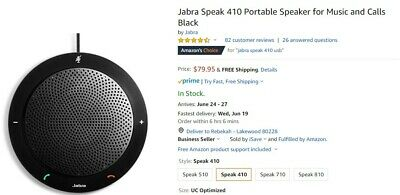 Jabra Speak 410 - Portable USB Conference Speakerphone