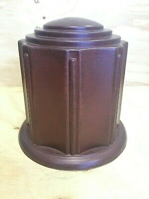 NEW Outdoor Indestructible Cremation Urn - Adult (Discontinued stock) 8A