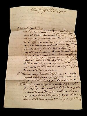 ANTIQUE DOCUMENT Deputy of the Kingdom of Naples 1793