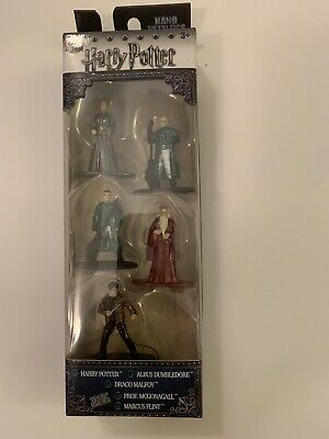 NIB Nano Metalfigs Harry Potter 5 Pack Die Cast Figures Jada Toys Pack B