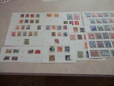 AUSTRIA STAMPS Between Scott 303 - 555 MINT + USED COLLECTION LOT
