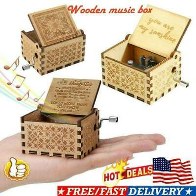 Mom To Daughter - You Are Loved More Than You Know - Engraved Music Box Magic