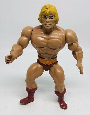 Vintage Mattel Masters of the Universe He-Man Action Figure Motu Toy