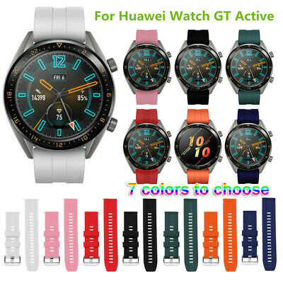 Silicone Soft Bracelet Strap Watch Band For Huawei Watch GT Active 22mm New