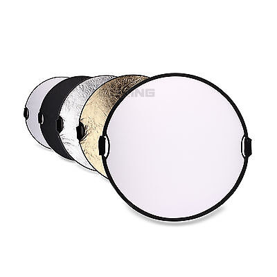 """Selens Portable Photo Reflector 43"""" 5in1 Light Mulit Collapsible"""