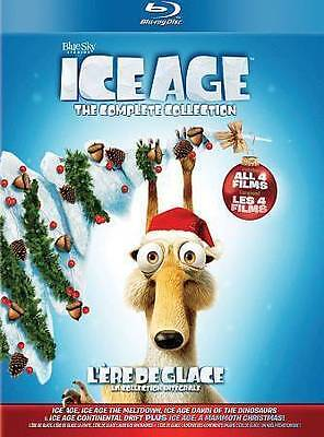 Ice Age Complete Collection (Blu-ray Disc, 2014, 5-Disc Set, Canadian)
