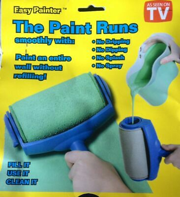 Easy Painter Roller Complete Set - No Splash, No Spray, No Dipping, No Dripping