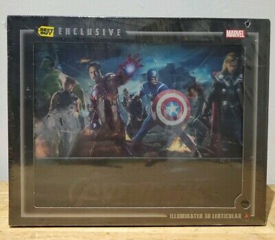 New Marvel Avengers Blu-ray 3D+2D/DVD Bestbuy Exclusive Collector's Edition