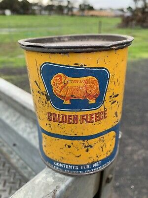 Golden Fleece 1 Lb Pound Grease Tin