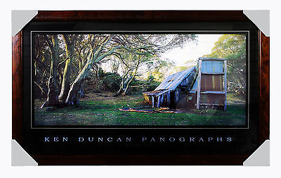 Ken Duncan -WALLACE HUT  -  FRAMED  READY TO HANG Historic Landscape