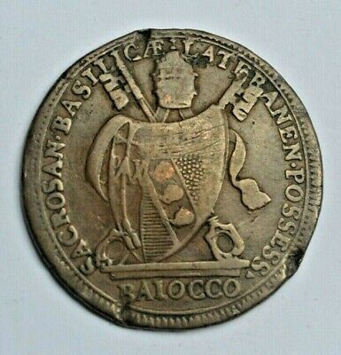 Italy - Papal States - Pius VII - baiocco 1801 - Rome mint