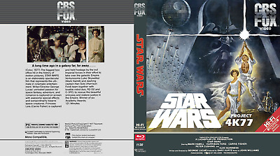 Star Wars 4k77 1080p with DNR Bluray and Star Wars Holiday Special dvd uk