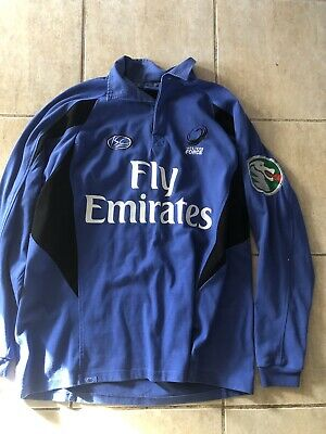 Vintage Western Force Super Rugby Home Jersey Size 2XL ISC Rare Long Sleeve