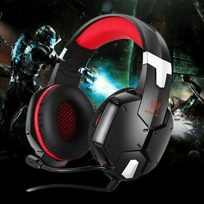EACH G2100 Stereo Bass Surround Gaming Headset for PS4 New Xbox One PC with Mic