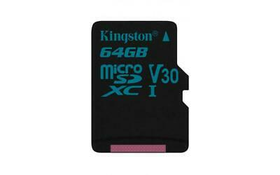 Kingston Carte microSD -( SDCG2/64GBSP ) sans adaptateur SD; Canvas Go! 64GB