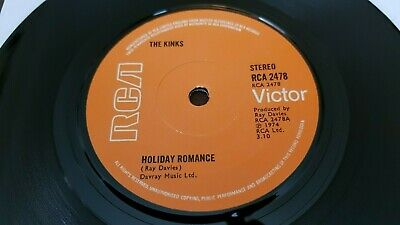 The Kinks - Holiday Romance - Uk - 1974 - Very Good++