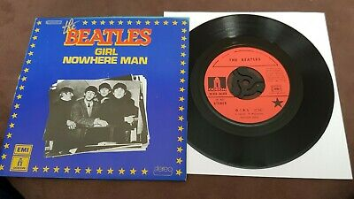 The Beatles - Girl/Nowhere Man -1976 - French Issue  - Excellent