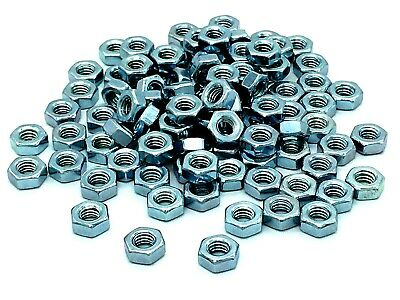 "HEX NUTS M4 zinc plated nut for 3/16"" bolt (479)"