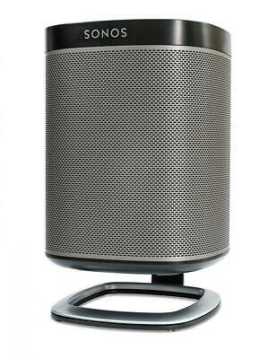 Flexson Support de Bureau pour Enceinte SONOS PLAY:1 - Noir Simple,