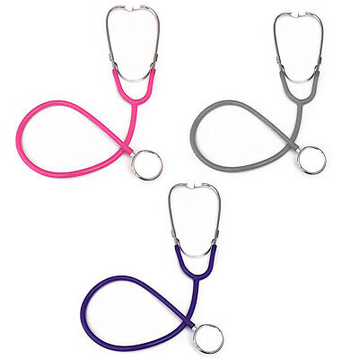 Pro Dual Head EMT Stethoscope for Doctor Nurse Vet Medical Student Health F5I7