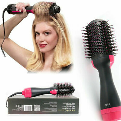 3 in 1 Pro Collection Salon One-Step Hair Dryer and Volumizer Comb Save 2019