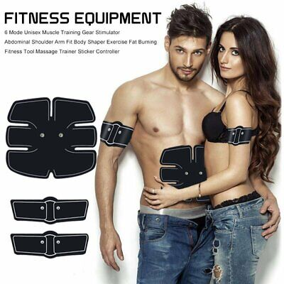 Muscle Trainer Abdominal Exercise Equipment Abs Ab Electric Stimulator Massage