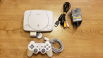 Modded Sony PlayStation 1 Slim PSOne PSX PS1 SCPH-101 NTSC COMPATIBLE W/ SCREEN