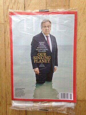 TIME  MAGAZINE June 24, 2019 OUR SINKING PLANET. In unopened wrap.