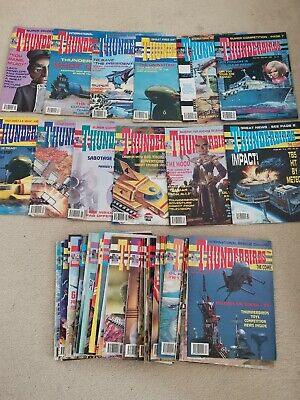 54 Vintage Thunderbirds Comics